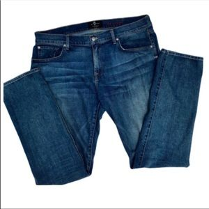 7FAM Men's Foolproof Denim The Straight 38/34